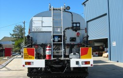 Rear View of 12,000L Bitumen Sprayer